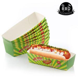 kuva BBQ Classics Hot Dog Rasiat (8 kpl pakkaus)