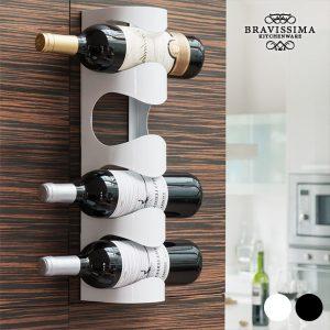 kuva Bravissima Kitchen Metallinen Viiniteline