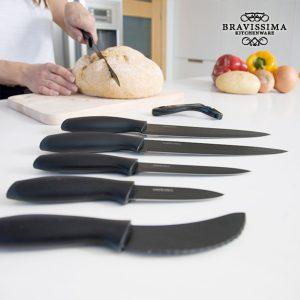 kuva Bravissima Kitchen Titanium Professional Keraamiset Veitset (7 kpl)