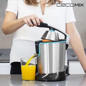 kuva Cecomix Adjust Black 4077 160W Steel Elektroninen Mehupuristin Kahvalla