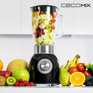 kuva Cecomix Titanium Black 4060 1000W Tehosekoitin