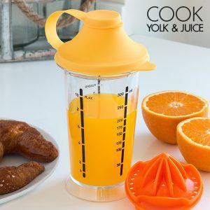 kuva Cook Yolk & Juice Sekoituslasi Sitruspuristimella