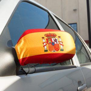 kuva Espanjan Lippu Sivupeili Suojus (2 kpl)