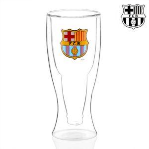 kuva F.C Barcelona Kaksoispohjainen Olutlasi