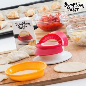 kuva Fast & Easy Dumpling Maker Pasteijan ja Täytetyn Pastan Muotti