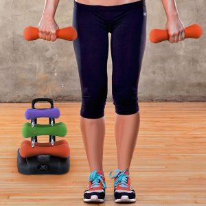 kuva Fitness Käsipainosetti Telineellä