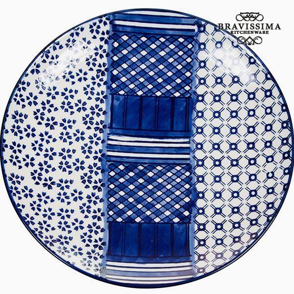 kuva Flat plate Posliini - Kitchen's Deco Kokoelma