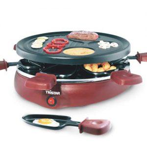 kuva Gourmet Raclette 6 Pannua | Tristar RA2991