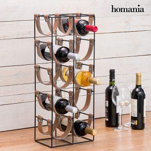 kuva Homania Belt Metallinen Pulloteline (10 pullolle)