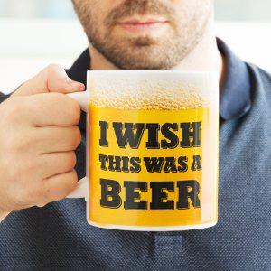 kuva I Wish This Was a Beer XL Muki