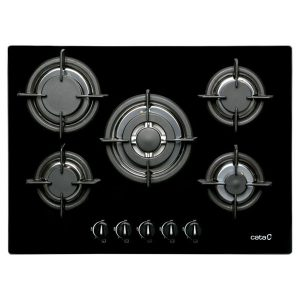 kuva Kaasukäyttöinen keittolevy Cata 28424 10900W 70 cm Musta