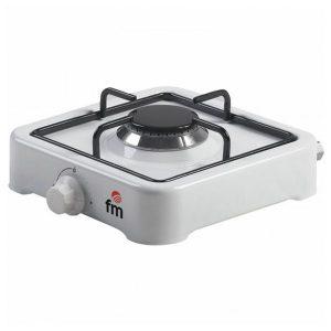 kuva Kaasukäyttöinen keittolevy Grupo FM HG100 Valkoinen (1 liesi)