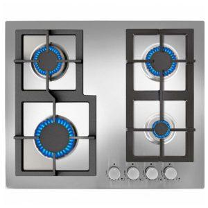 kuva Kaasukäyttöinen keittolevy Teka (60 cm) Inox Auto ignition