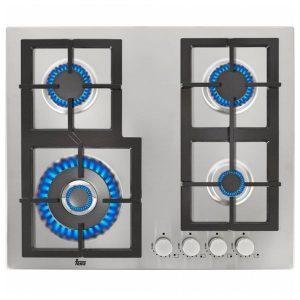 kuva Kaasukäyttöinen keittolevy Teka (60 cm) Inox Teräs