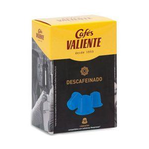 kuva Kahvikapselit laatikossa Cafés Valiente 83928 (10 uds) Decaffeinated