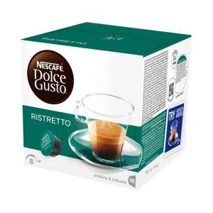 kuva Kahvikapselit laatikossa Nescafé Dolce Gusto 41640 Espresso Ristretto (48 uds)