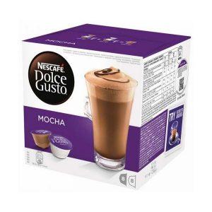 kuva Kahvikapselit laatikossa Nescafé Dolce Gusto 49523 Mocha (16 uds)