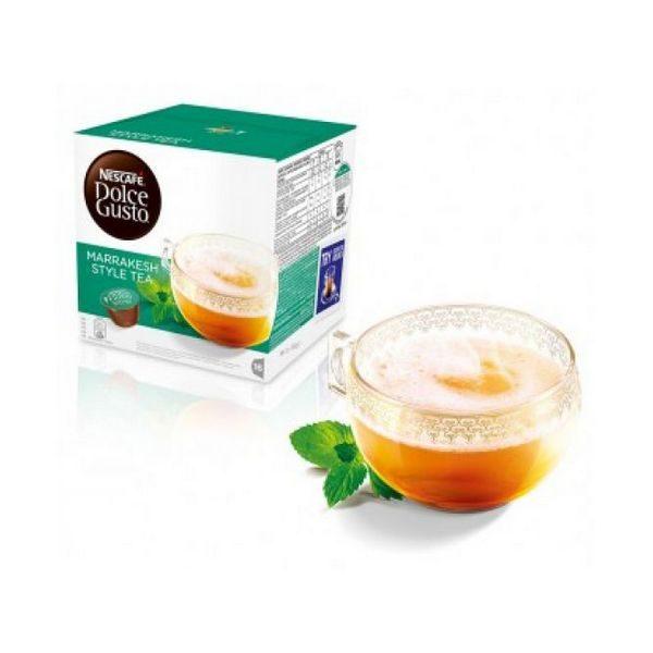 kuva Kahvikapselit laatikossa Nescafé Dolce Gusto 55290 Marrakesh Style Tea (16 uds)