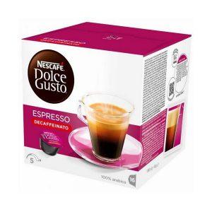 kuva Kahvikapselit laatikossa Nescafé Dolce Gusto 60658 Espresso Decaffeinato (16 uds)