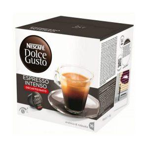 kuva Kahvikapselit laatikossa Nescafé Dolce Gusto 60924 Espresso Intenso Decaffeinato (16 uds)