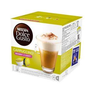 kuva Kahvikapselit laatikossa Nescafé Dolce Gusto 87377 Cappuccino Light (16 uds)
