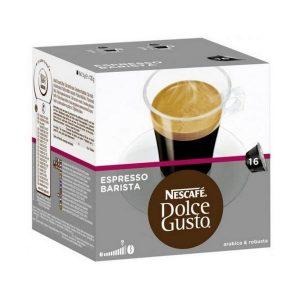 kuva Kahvikapselit laatikossa Nescafé Dolce Gusto 91414 Espresso Barista (16 uds)