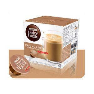 kuva Kahvikapselit laatikossa Nescafé Dolce Gusto 97934 Café Au Lait (16 uds)
