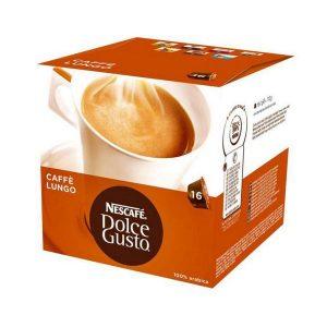 kuva Kahvikapselit laatikossa Nescafé Dolce Gusto 98423 Lungo (16 uds)