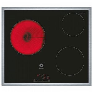 kuva Lasikeraaminen keittolevy Balay 3EB714XR 60 cm Musta (3 paisto- ja keittoalue)