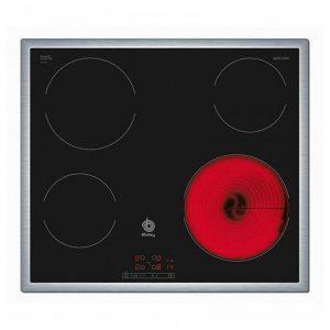 kuva Lasikeraaminen keittolevy Balay 3EB720XR 60 cm Musta (4 paisto- ja keittoalue)