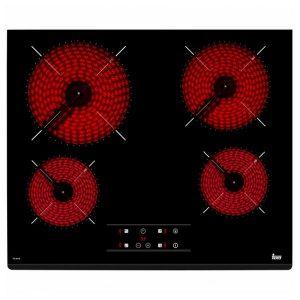 kuva Lasikeraaminen keittolevy Teka TZ6418 60 cm Musta (4 paisto- ja keittoalue)