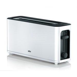 kuva Leivänpaahdin Braun HT3100WH 1000W Valkoinen