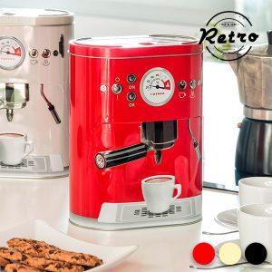 kuva Metallinen Vintage Kahvikone Rasia