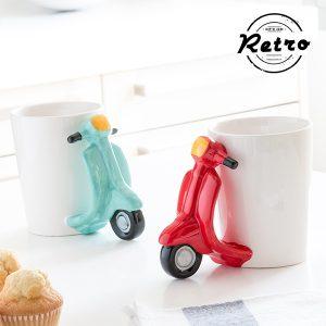 kuva Scooter Retro Muki