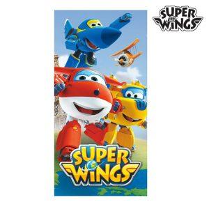 kuva Sininen Superlentokoneet Rantapyyhe