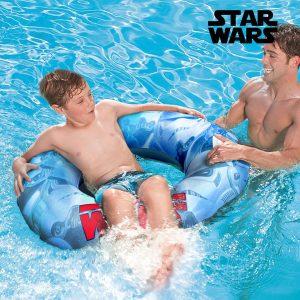 kuva Star Wars Puhallettava Uimarengas Kahvoilla