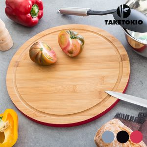 kuva TakeTokio Pyöreä Bambu Leikkuulauta