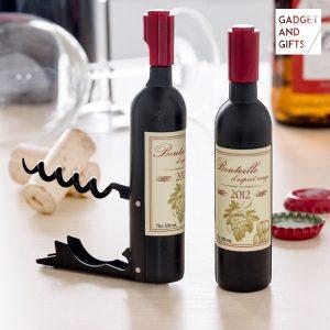 kuva Viinipullon Korkkiruuvi ja Pullonavaaja Magneetilla