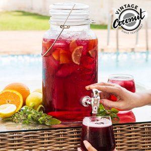 kuva Vintage Ice Cold Drink Juoma-Annostelija