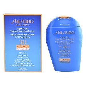 kuva Aurinkoemulsio Expert Sun Aging Protection Shiseido Spf 30 (100 ml)