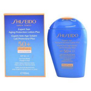 kuva Aurinkoemulsio Expert Sun Aging Protection Shiseido Spf 50 (100 ml)