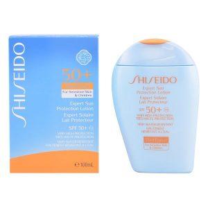 kuva Aurinkorasva lapsille Expert Sun Shiseido Spf 50 (100 ml)
