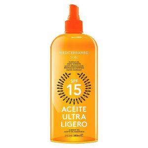 kuva Aurinkosuojaöljy Carrot Suntan Mediterraneo Sun SPF 15 (200 ml)