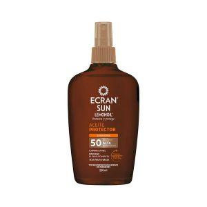 kuva Aurinkosuojaöljy Ecran SPF 50 (200 ml)