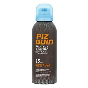 kuva Aurinkosuoja Protect & Cool Piz Buin SPF 15 (150 ml)