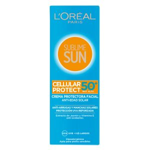 kuva Aurinkovoide Sublime Sun L'Oreal Make Up Spf 50 (75 ml)