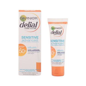 kuva Kasvojen aurinkovoide Sensitive Delial SPF 50+ (50 ml)