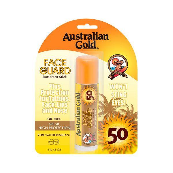 kuva Kasvojen aurinkovoide Sunscreen Stick Australian Gold SPF 50 (14 g)