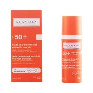 kuva Maksaläiskiä ehkäisevä aurinkoemulsio Spf +50 Bella Aurora