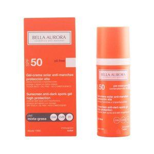 kuva Maksaläiskiä ehkäisevä aurinkovoide Spf 50 Bella Aurora